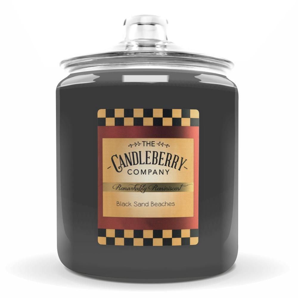 Black Sand Beaches®, 160 oz. Jar, Scented Candle 160 oz. Cookie Jar Candle The Candleberry Candle Company