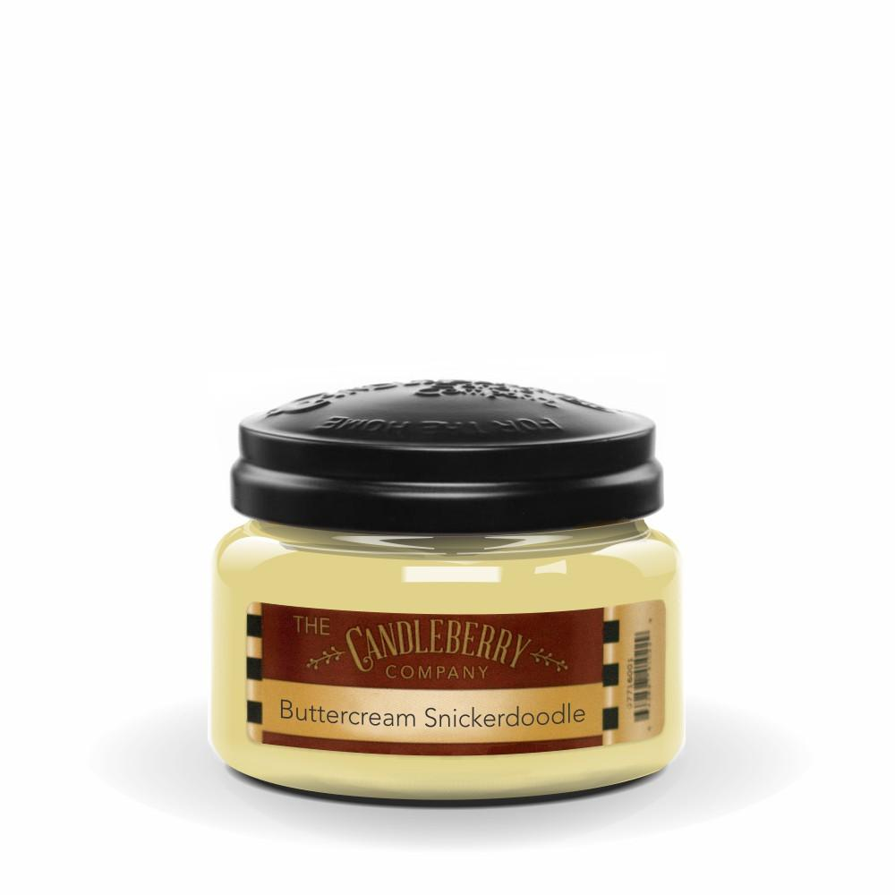 Buttercream Snickerdoodle™, 10 oz. Jar, Scented Candle 10 oz. Small Jar Candle The Candleberry Candle Company
