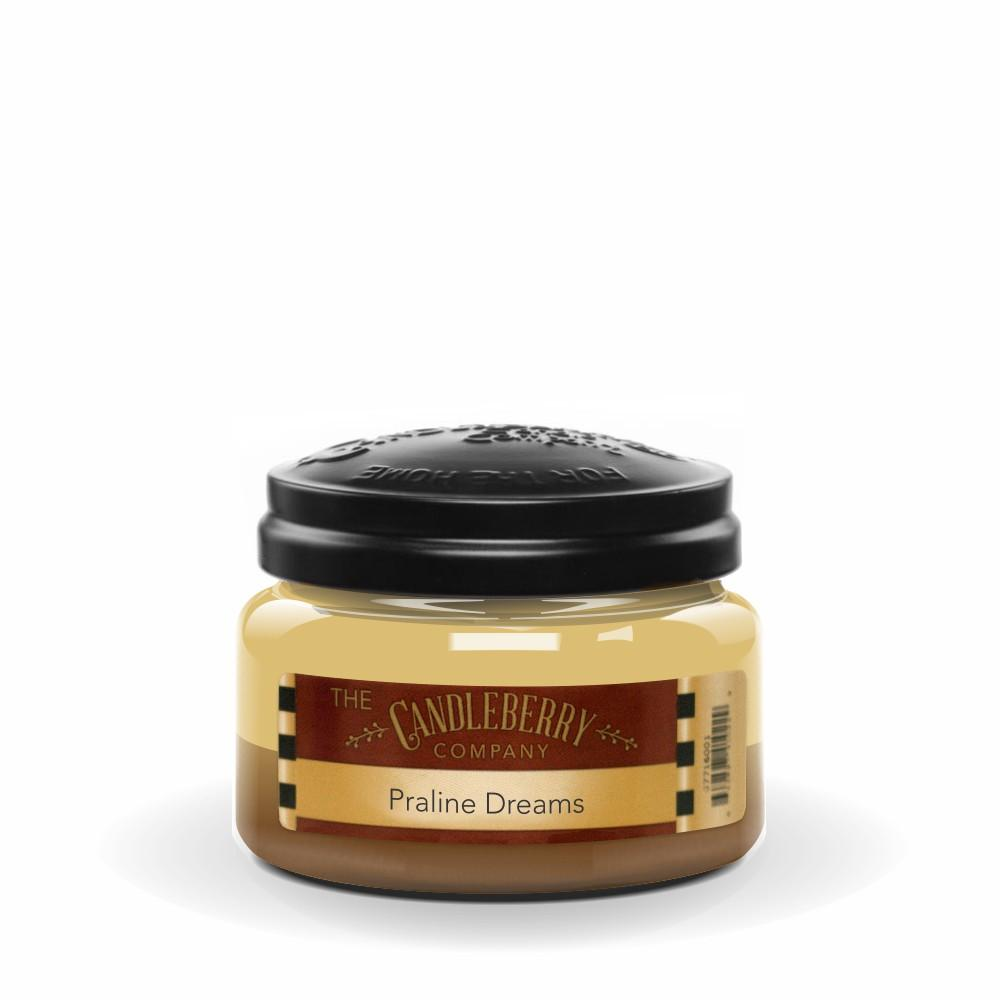 Praline Dreams™, 10 oz. Jar, Scented Candle 10 oz. Small Jar Candle The Candleberry Candle Company