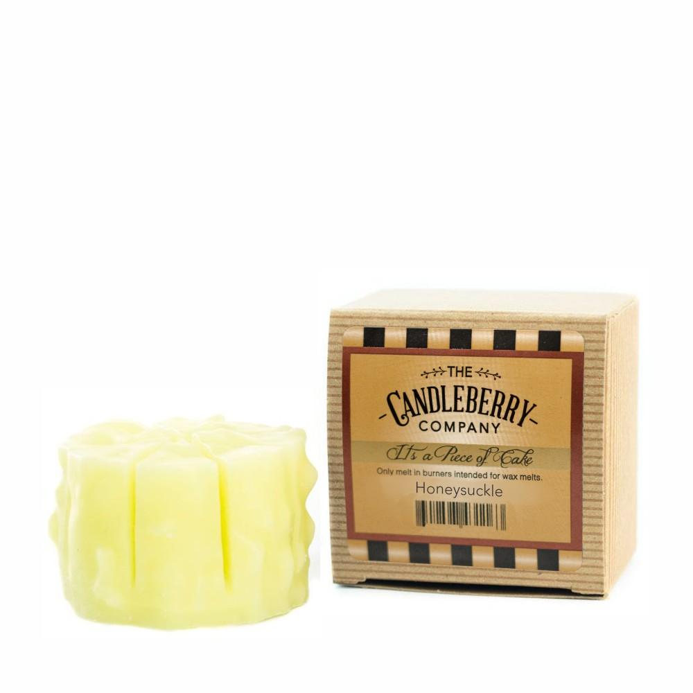 "Honeysuckle™, ""It's a Piece of Cake"" Scented Wax Melts ""It's a Piece of Cake""® Wax Melts The Candleberry Candle Company"