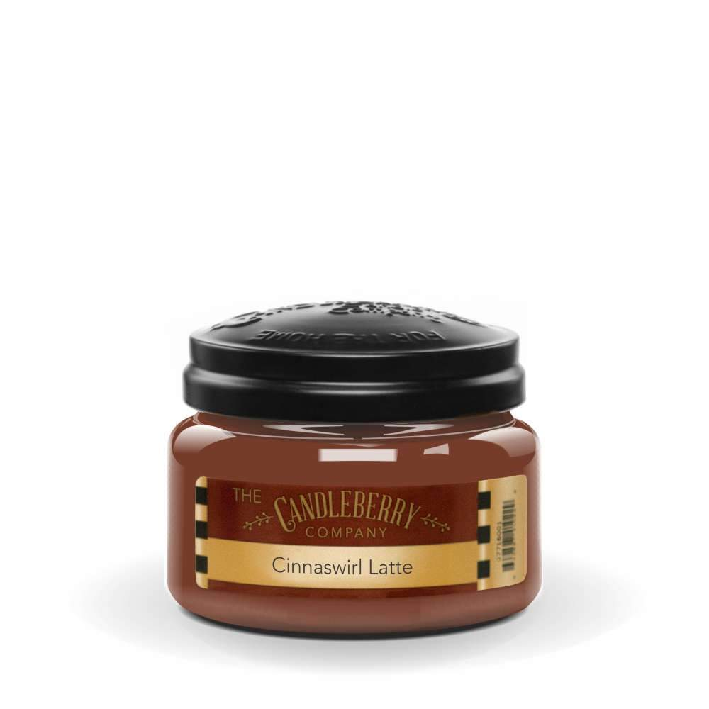 Cinnaswirl Latte™, 10 oz. Jar, Scented Candle 10 oz. Small Jar Candle The Candleberry Candle Company