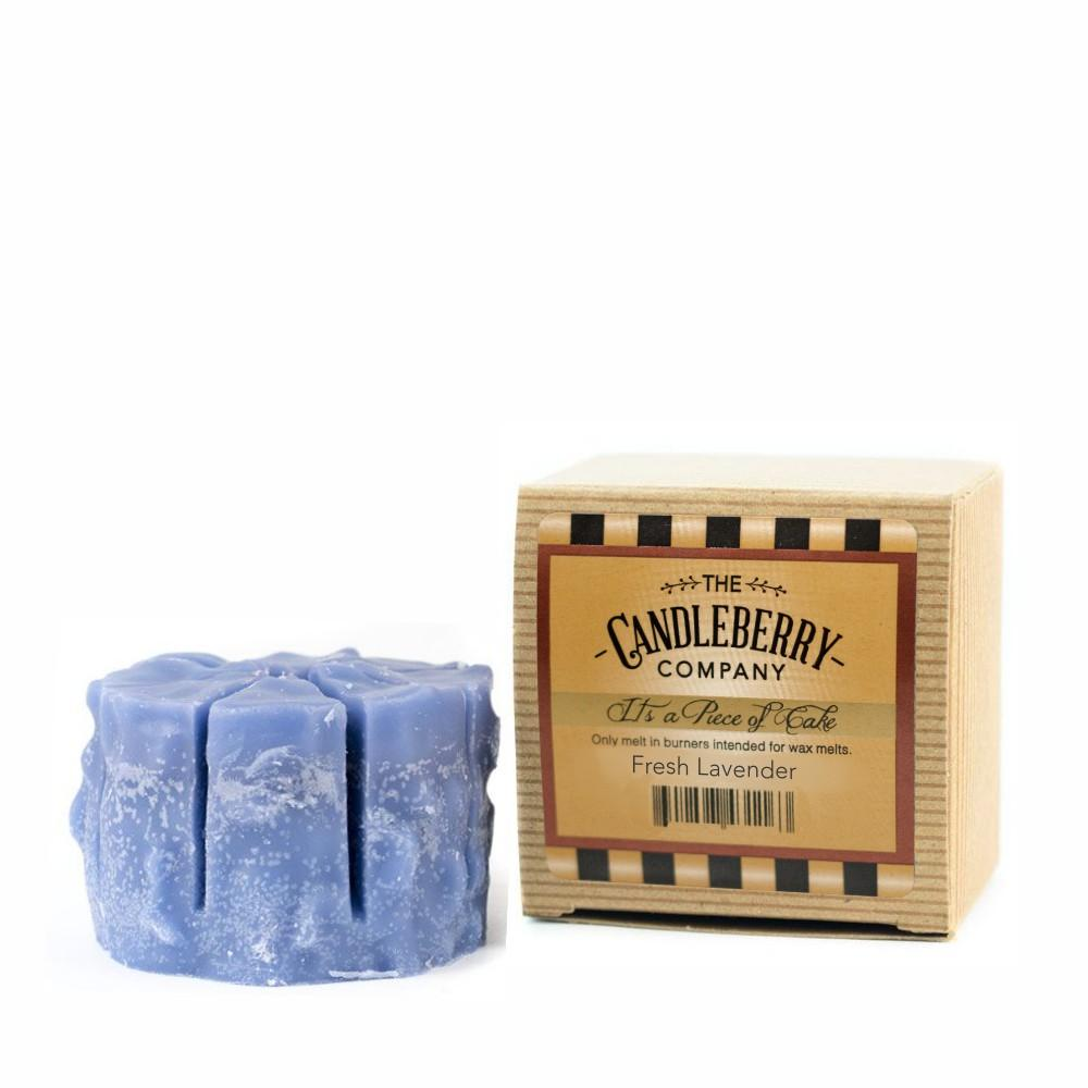 "Fresh Lavender™, ""It's a Piece of Cake"" Scented Wax Melts ""It's a Piece of Cake""® Wax Melts The Candleberry Candle Company"