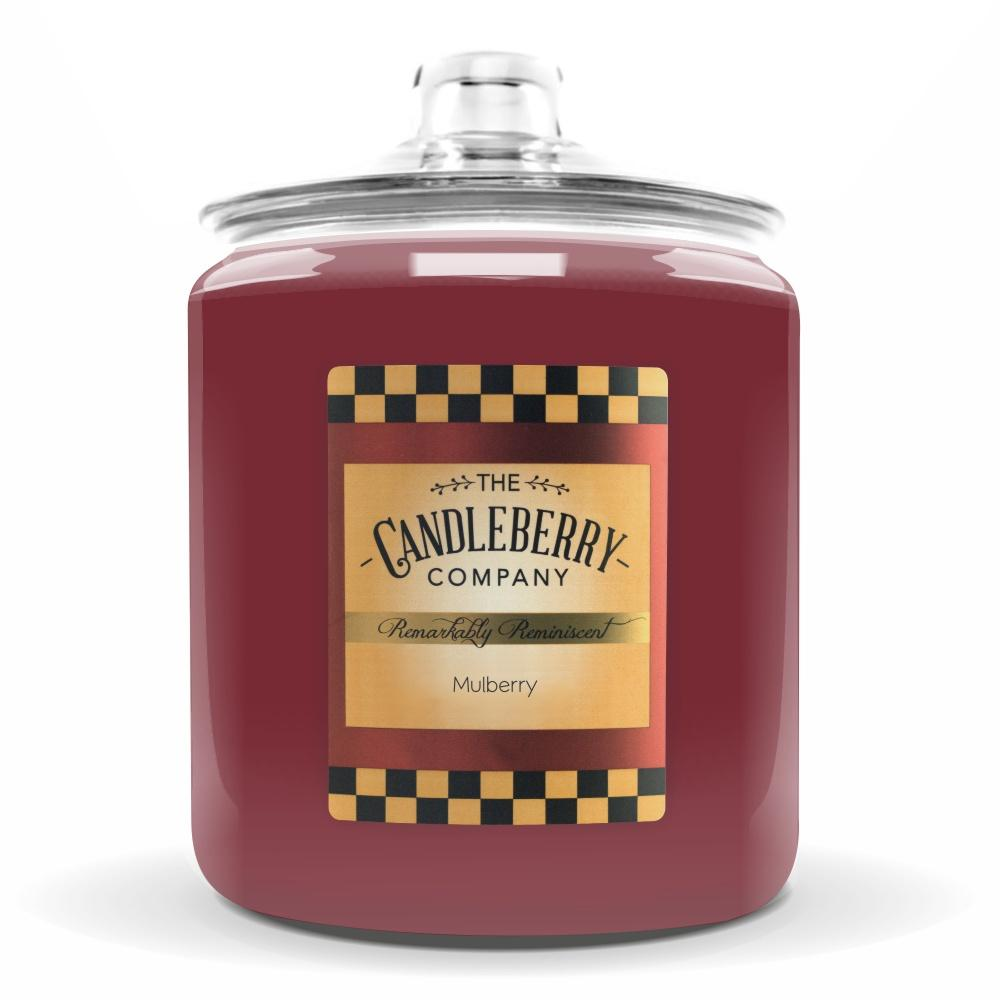 Mulberry™, 160 oz. Jar, Scented Candle 160 oz. Cookie Jar Candle The Candleberry Candle Company