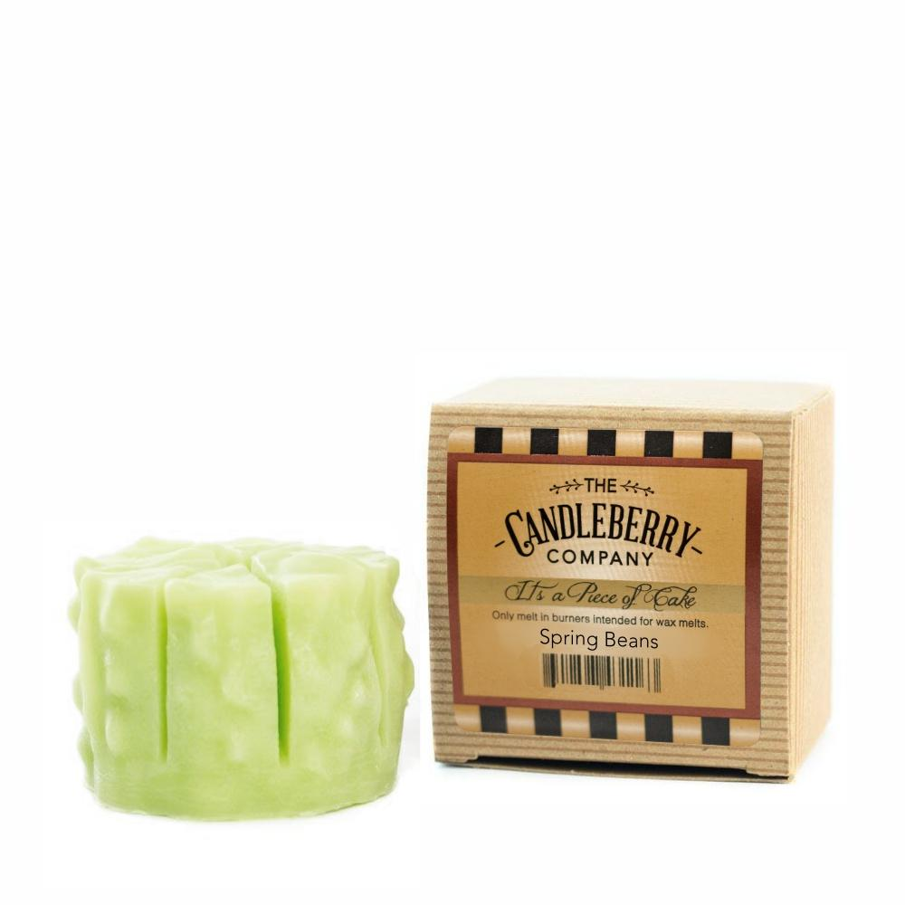 "Spring Beans™, ""It's a Piece of Cake"" Scented Wax Melts ""It's a Piece of Cake""® Wax Melts The Candleberry Candle Company"