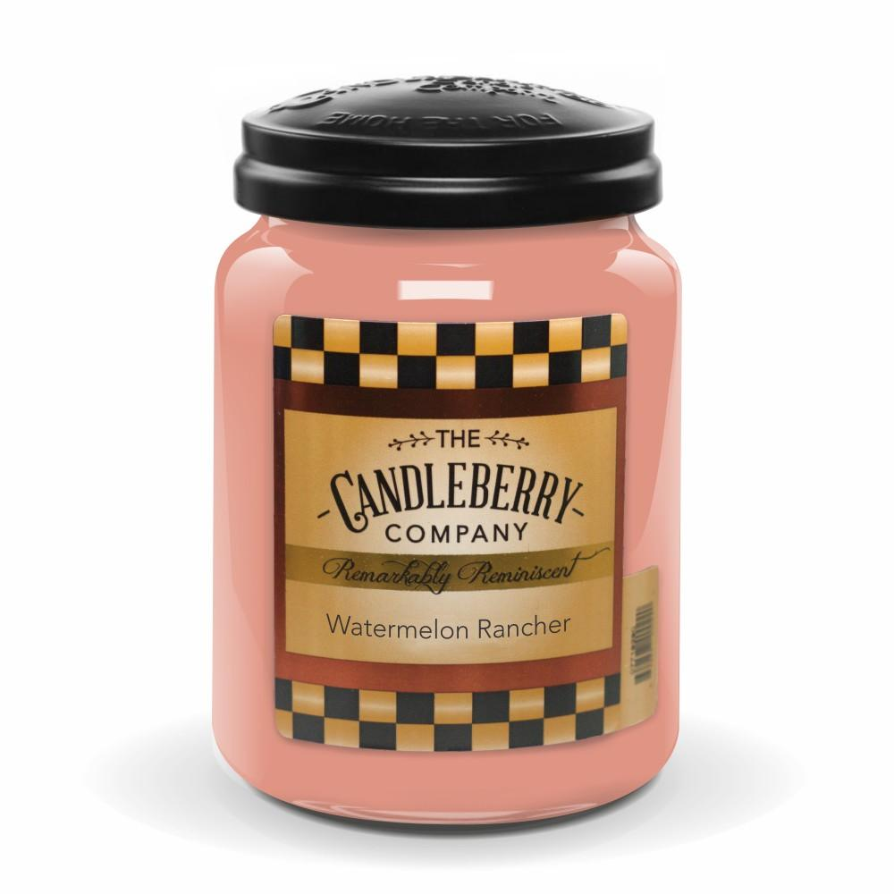 Watermelon Rancher™, 26 oz. Jar, Scented Candle 26 oz. Large Jar Candle The Candleberry Candle Company