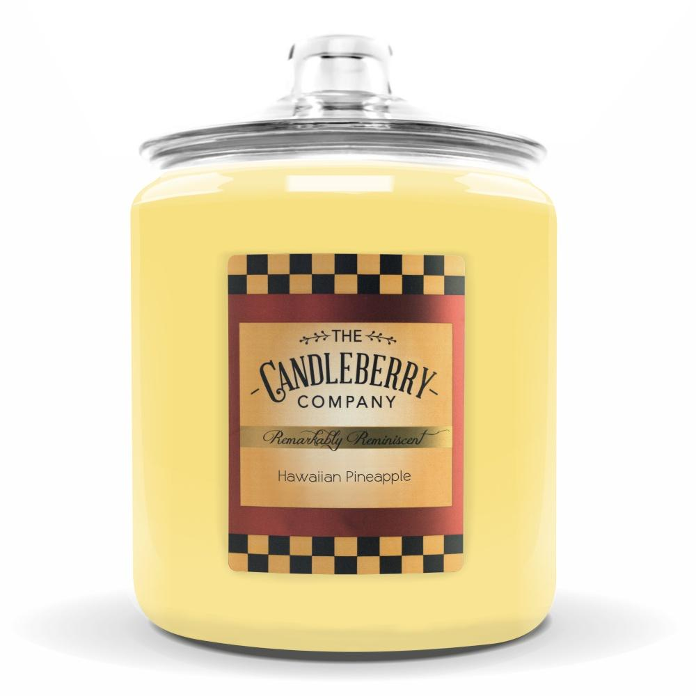 Hawaiian Pineapple™, 160 oz. Jar, Scented Candle 160 oz. Cookie Jar Candle The Candleberry Candle Company