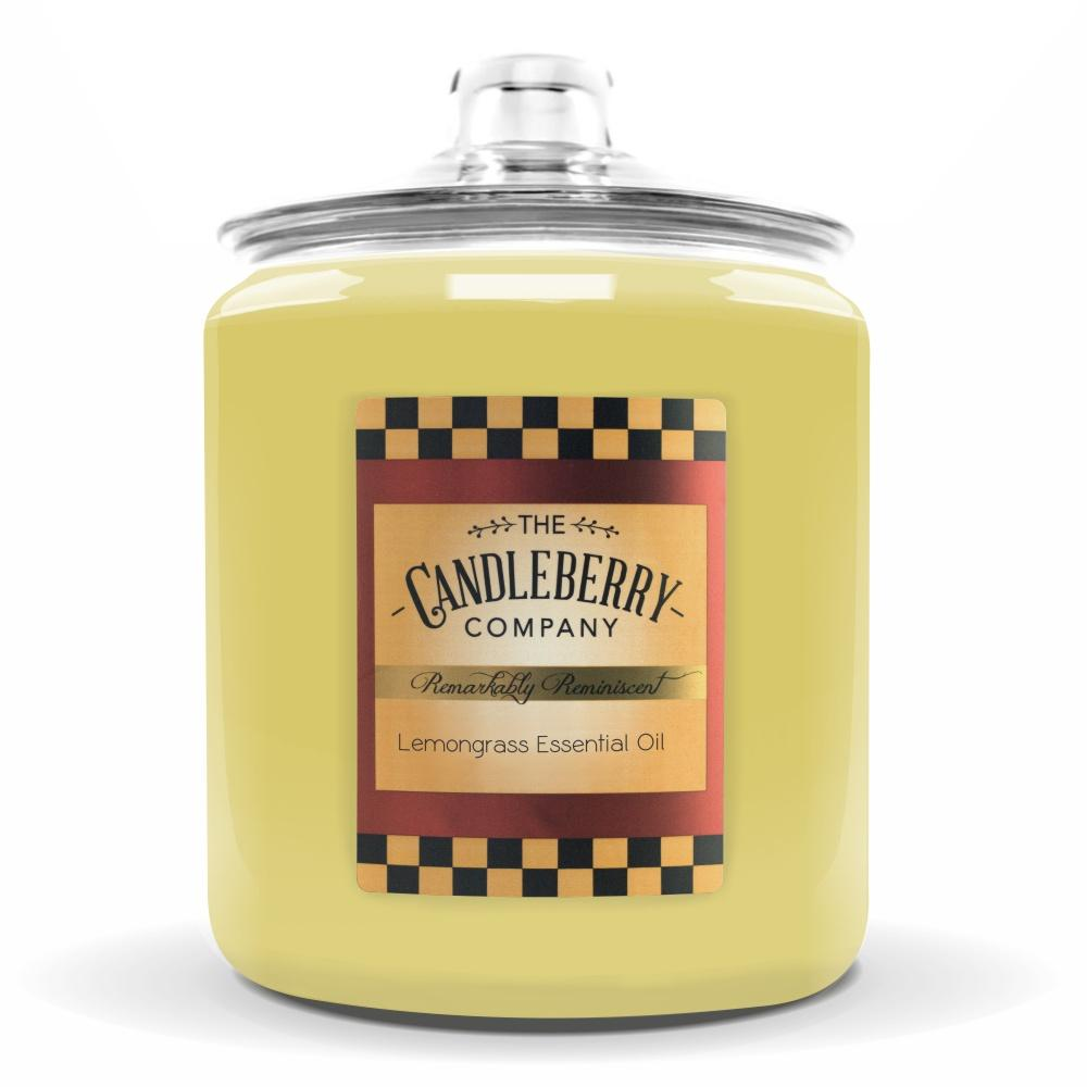 Lemongrass Essential Oil™, 160 oz. Jar, Scented Candle 160 oz. Cookie Jar Candle The Candleberry Candle Company