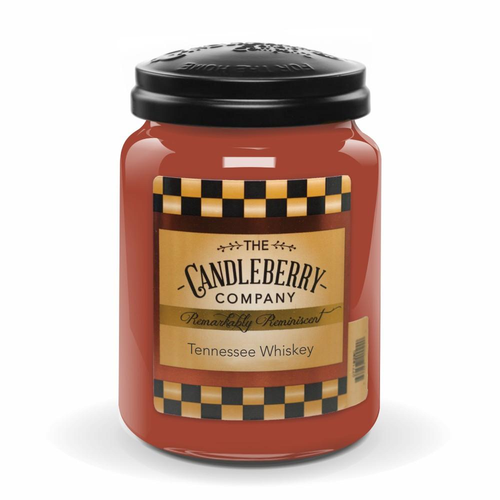 Tennessee Whiskey™, 26 oz. Jar, Scented Candle 26 oz. Large Jar Candle The Candleberry Candle Company