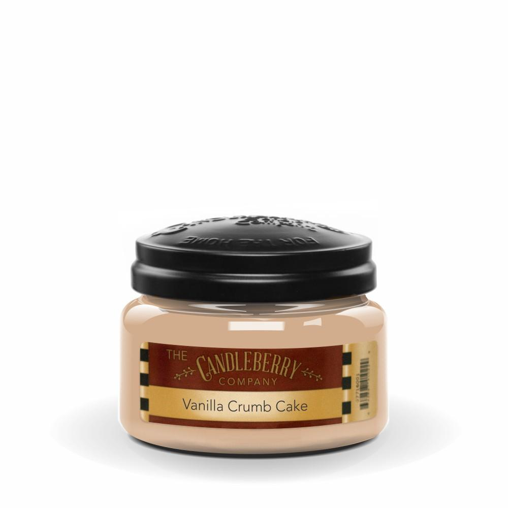 Vanilla Crumb Cake™, 10 oz. Jar, Scented Candle 10 oz. Small Jar Candle The Candleberry Candle Company