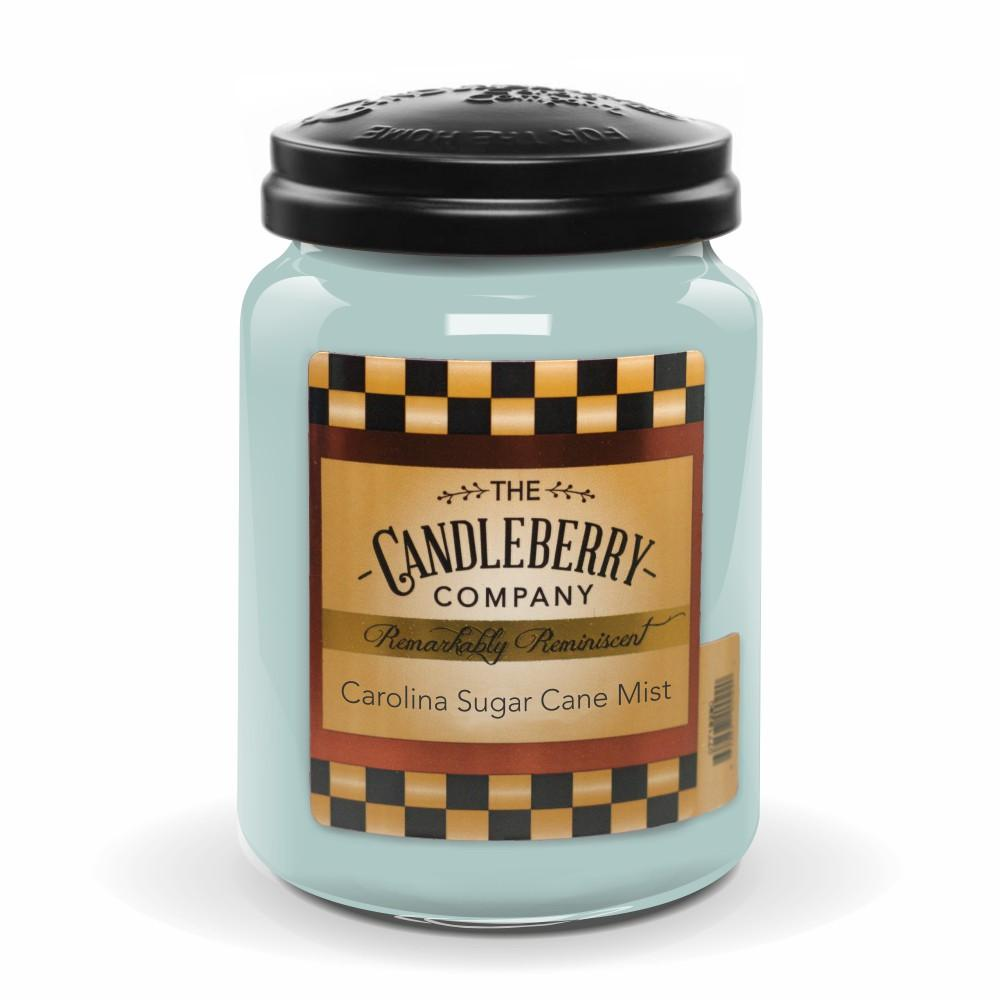 Carolina Sugar Cane Mist™, 26 oz. Jar, Scented Candle 26 oz. Large Jar Candle The Candleberry Candle Company