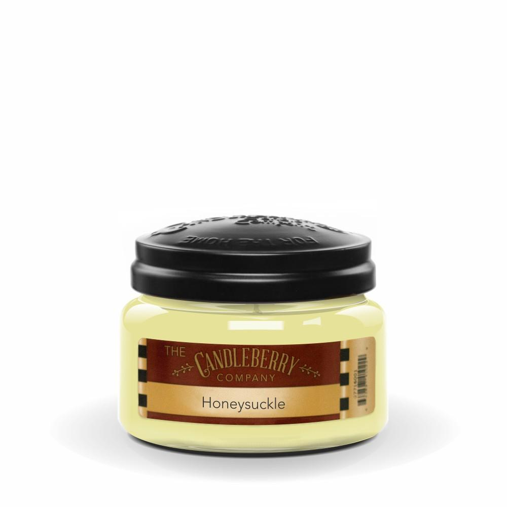 Honeysuckle™, 10 oz. Jar, Scented Candle 10 oz. Small Jar Candle The Candleberry Candle Company