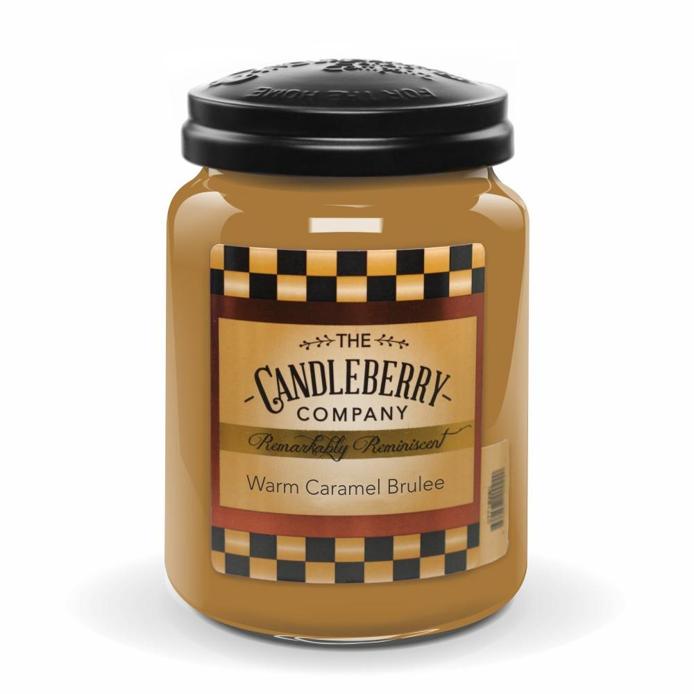 Warm Caramel Brulee™, 26 oz. Jar, Scented Candle