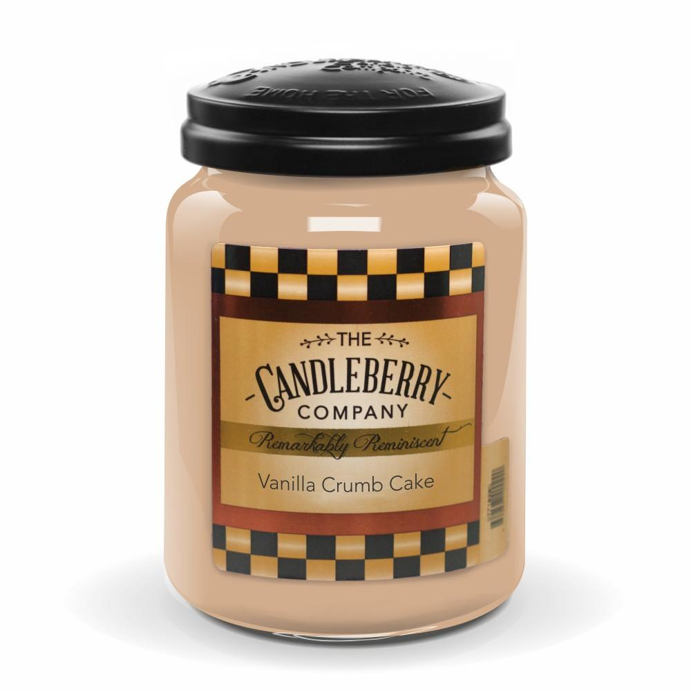 Vanilla Crumb Cake™, 26 oz. Jar, Scented Candle 26 oz. Large Jar Candle The Candleberry Candle Company