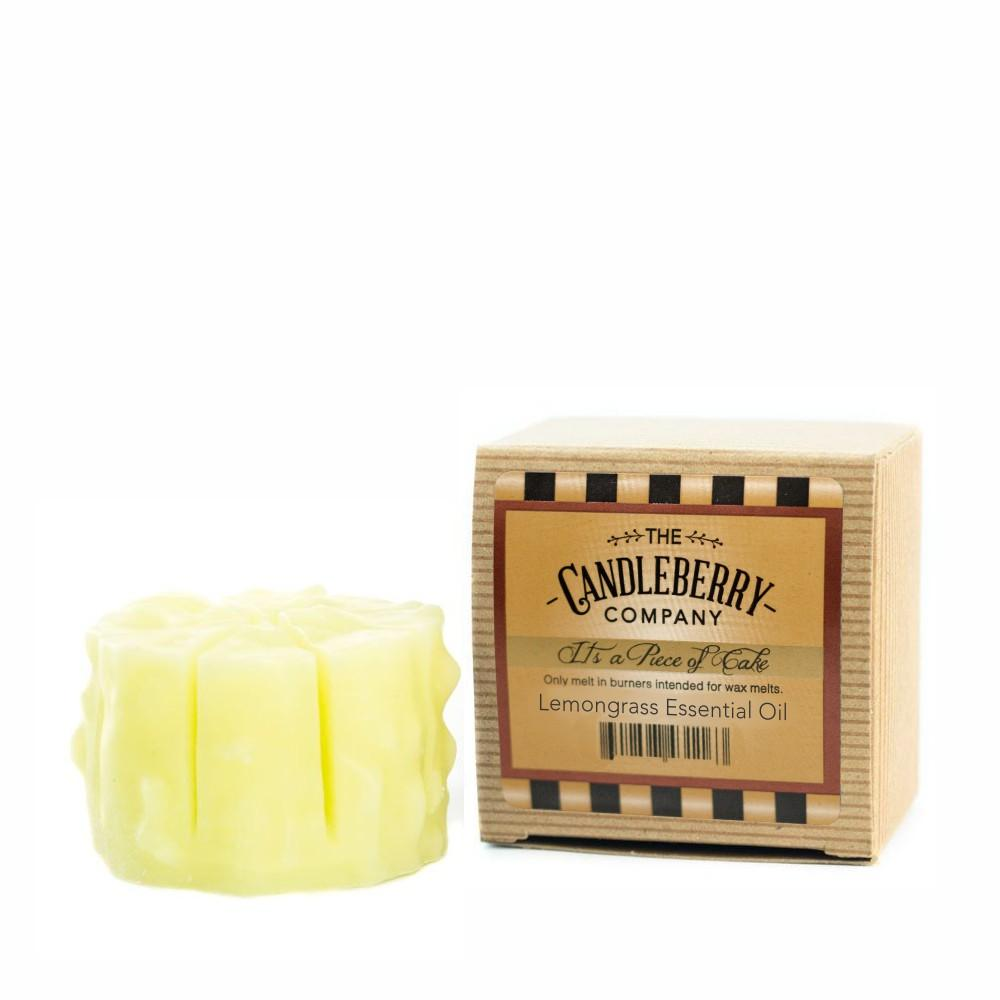 "Lemongrass Essential Oil™, ""It's a Piece of Cake"" Scented Wax Melts ""It's a Piece of Cake""® Wax Melts The Candleberry Candle Company"