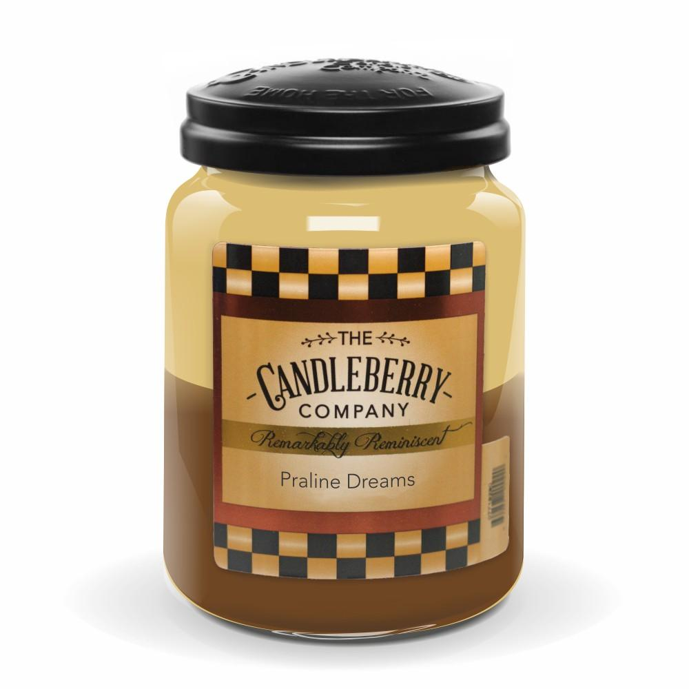 Praline Dreams™, 26 oz. Jar, Scented Candle 26 oz. Large Jar Candle The Candleberry Candle Company