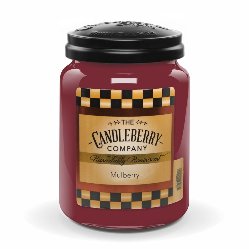 Mulberry 26 Oz Jar Scented Candle By Candleberry The Candleberry Candle Company