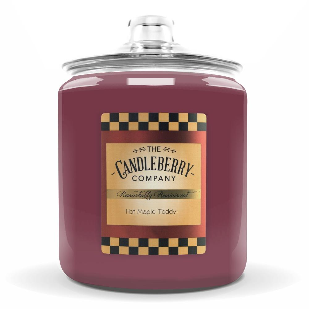 Hot Maple Toddy®, 160 oz. Jar, Scented Candle 160 oz. Cookie Jar Candle The Candleberry Candle Company