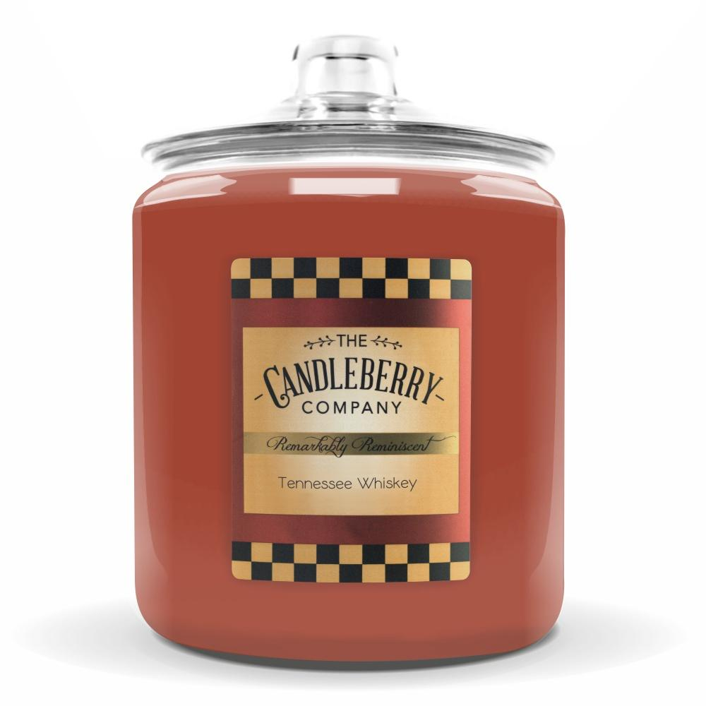 Tennessee Whiskey®, 160 oz. Jar, Scented Candle 160 oz. Cookie Jar Candle The Candleberry Candle Company