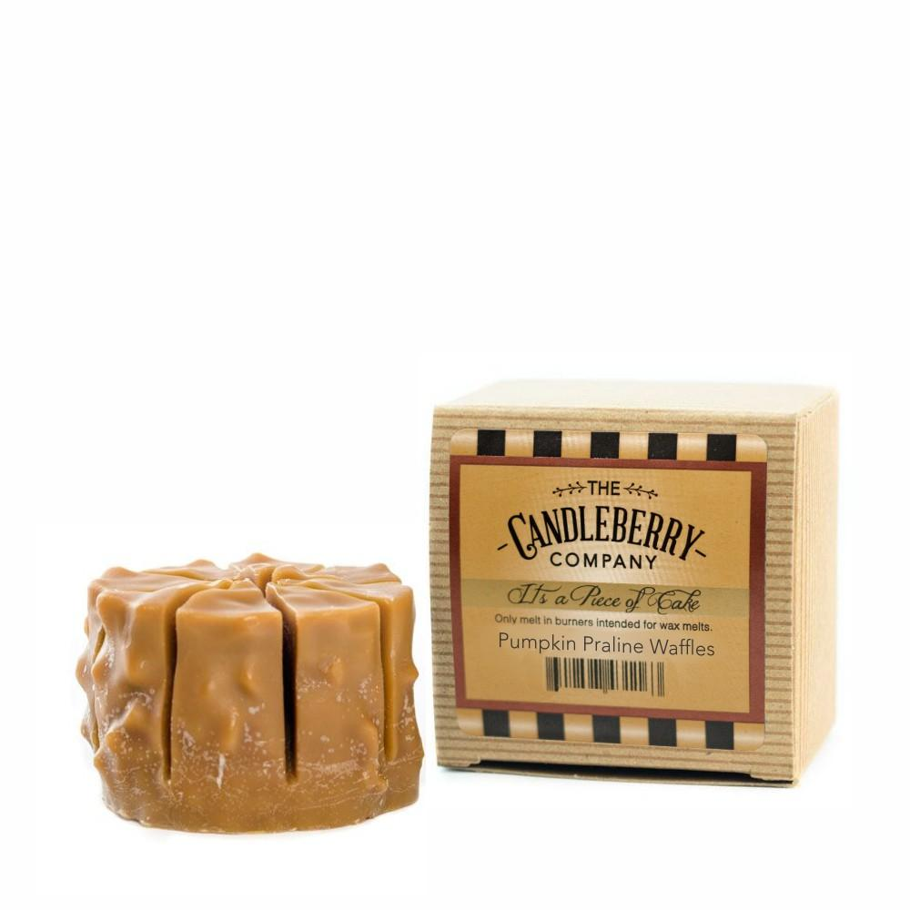 "Pumpkin Praline Waffles™, ""It's a Piece of Cake"" Scented Wax Melts ""It's a Piece of Cake""® Wax Melts The Candleberry Candle Company"