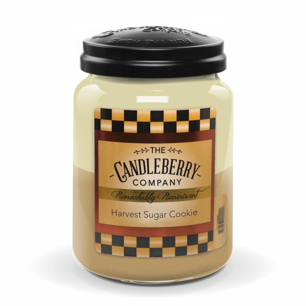 Harvest Sugar Cookie™, 26 oz. Jar, Scented Candle 26 oz. Large Jar Candle The Candleberry Candle Company