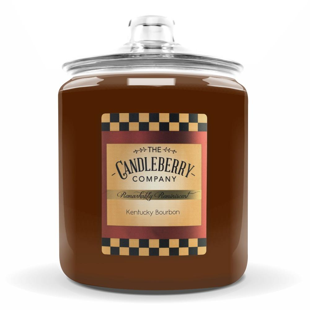 Kentucky Bourbon®, 160 oz. Jar, Scented Candle 160 oz. Cookie Jar Candle The Candleberry Candle Company