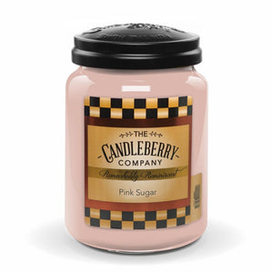 Pink Sugar™, 26 oz. Jar, Scented Candle 26 oz. Large Jar Candle The Candleberry Candle Company