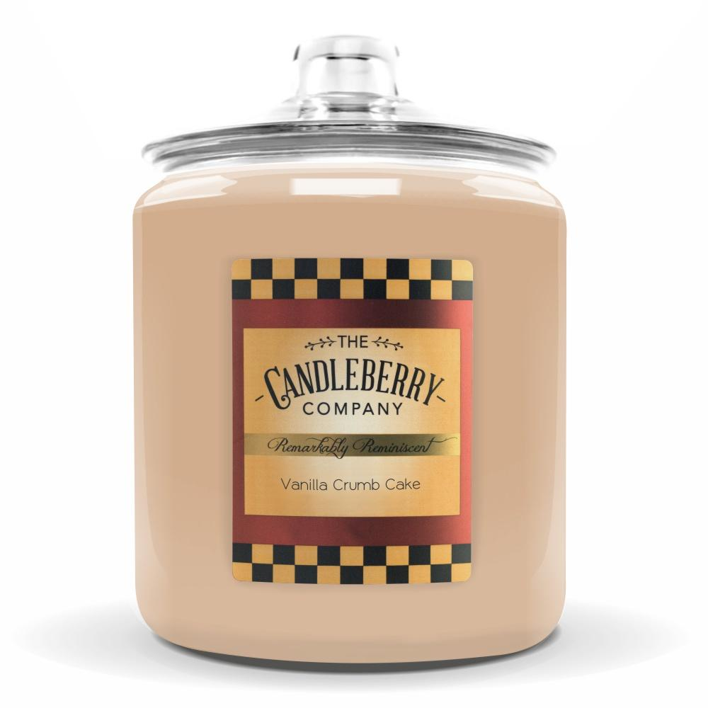 Vanilla Crumb Cake™, 160 oz. Jar, Scented Candle 160 oz. Cookie Jar Candle The Candleberry Candle Company