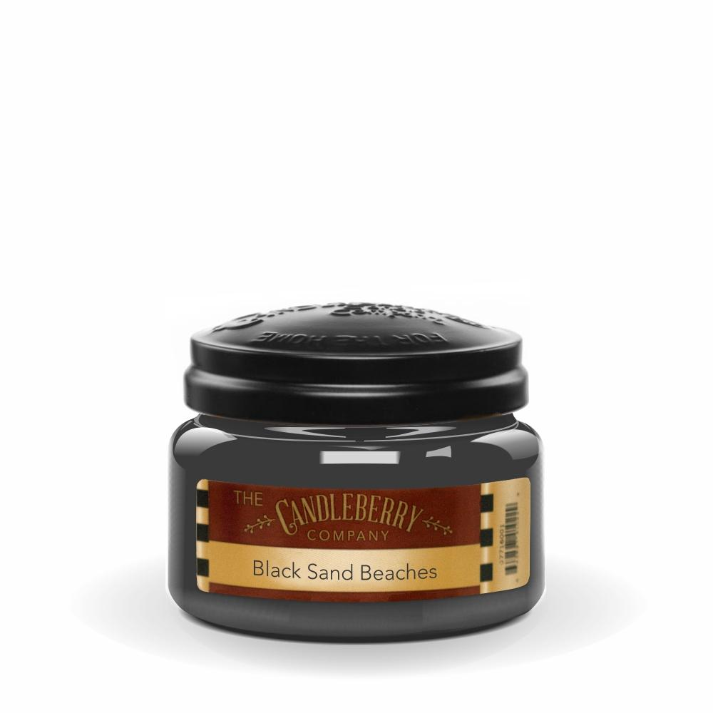 Black Sand Beaches®, 10 oz. Jar, Scented Candle 10 oz. Small Jar Candle The Candleberry Candle Company