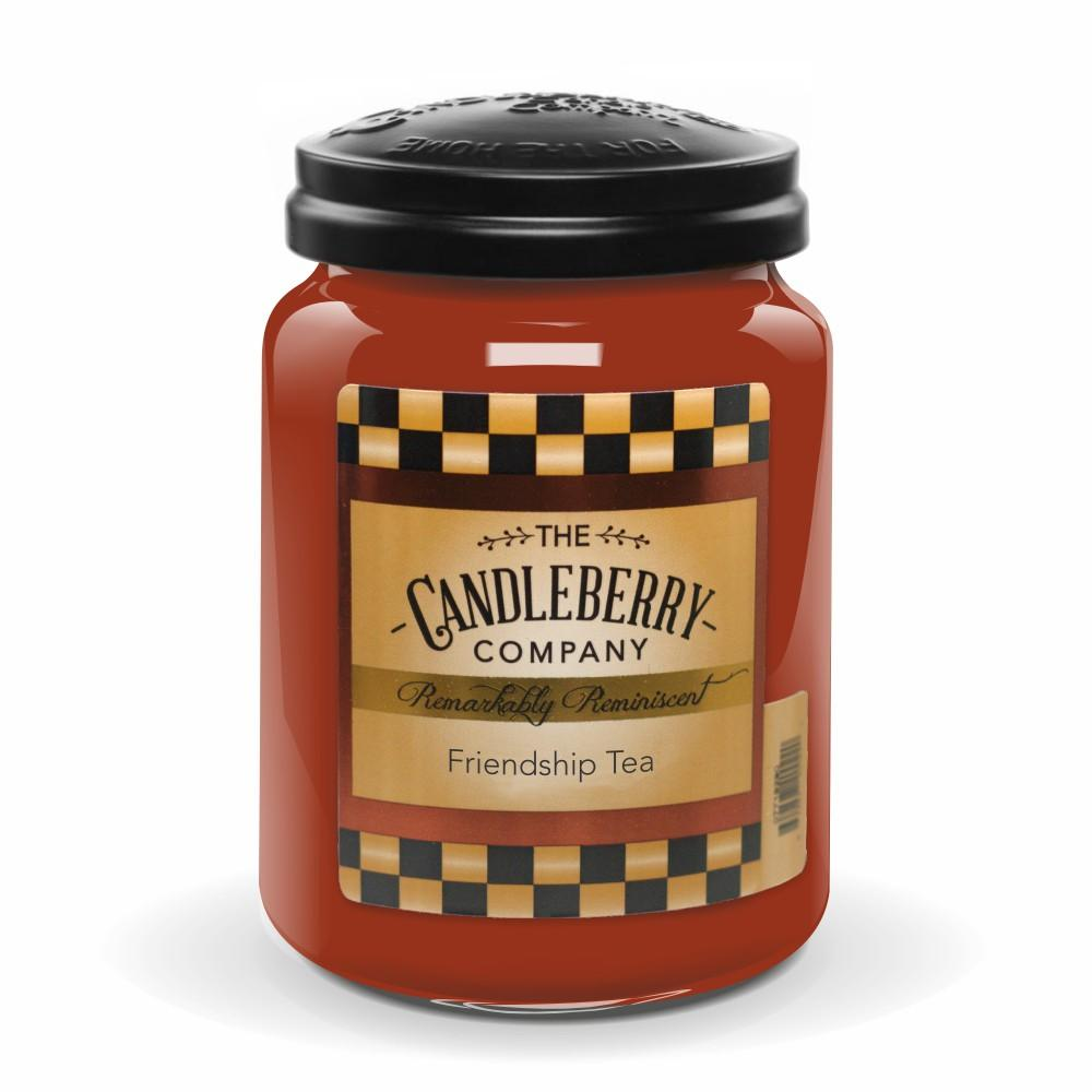 Friendship Tea™, 26 oz. Jar, Scented Candle 26 oz. Large Jar Candle The Candleberry Candle Company
