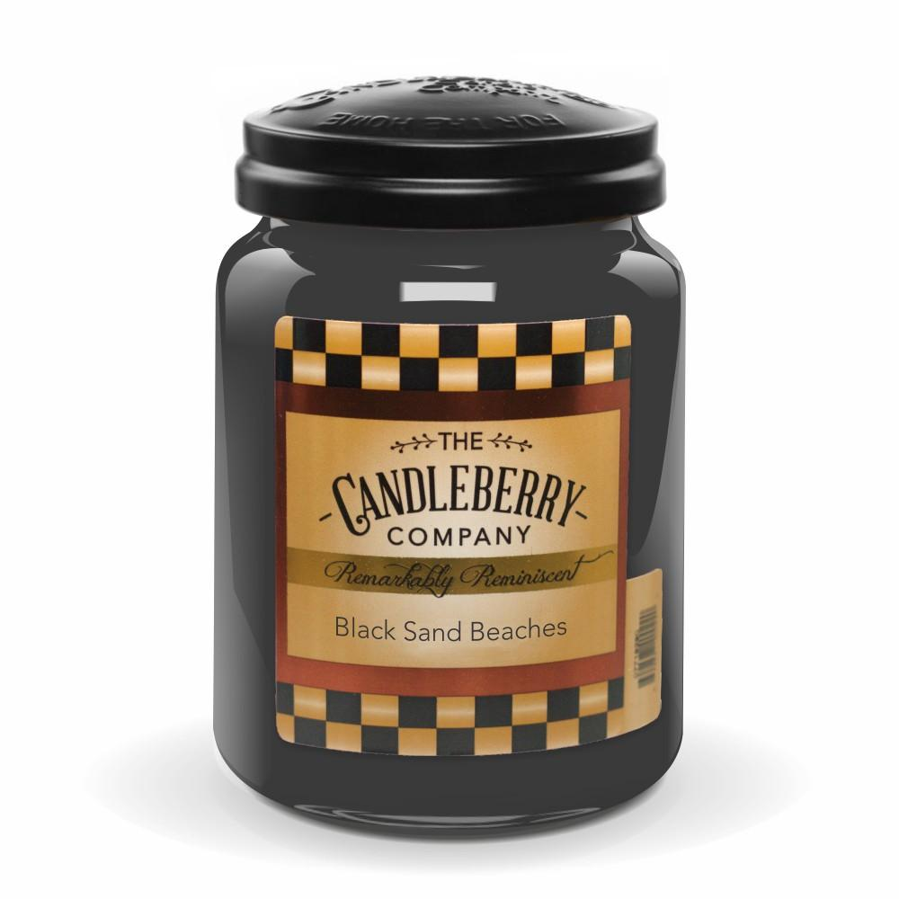 Black Sand Beaches™, 26 oz. Jar, Scented Candle 26 oz. Large Jar Candle The Candleberry Candle Company