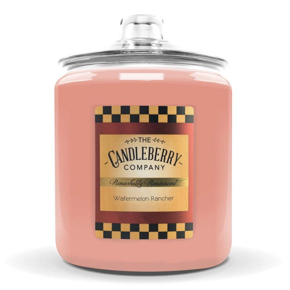 Watermelon Rancher™, 160 oz. Jar, Scented Candle 160 oz. Cookie Jar Candle The Candleberry Candle Company