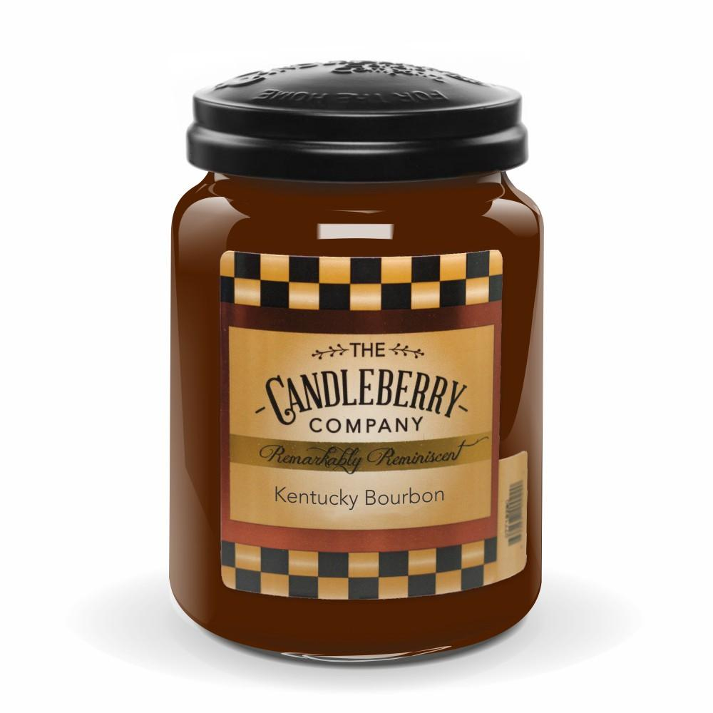 Kentucky Bourbon®, 26 oz. Jar, Scented Candle 26 oz. Large Jar Candle The Candleberry Candle Company