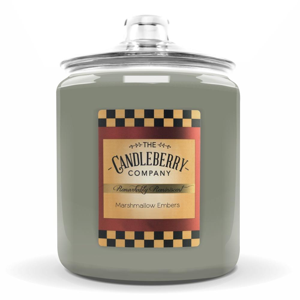 Marshmallow & Embers™, 160 oz. Jar, Scented Candle 160 oz. Cookie Jar Candle The Candleberry Candle Company