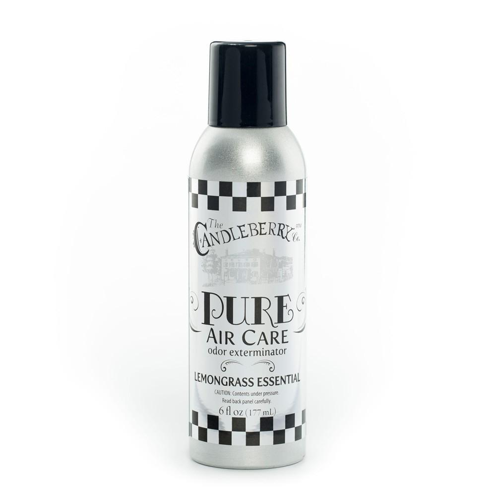 Lemongrass Pure Air Care™, 6 oz. Room Spray 6 oz. Room Spray The Candleberry Candle Company