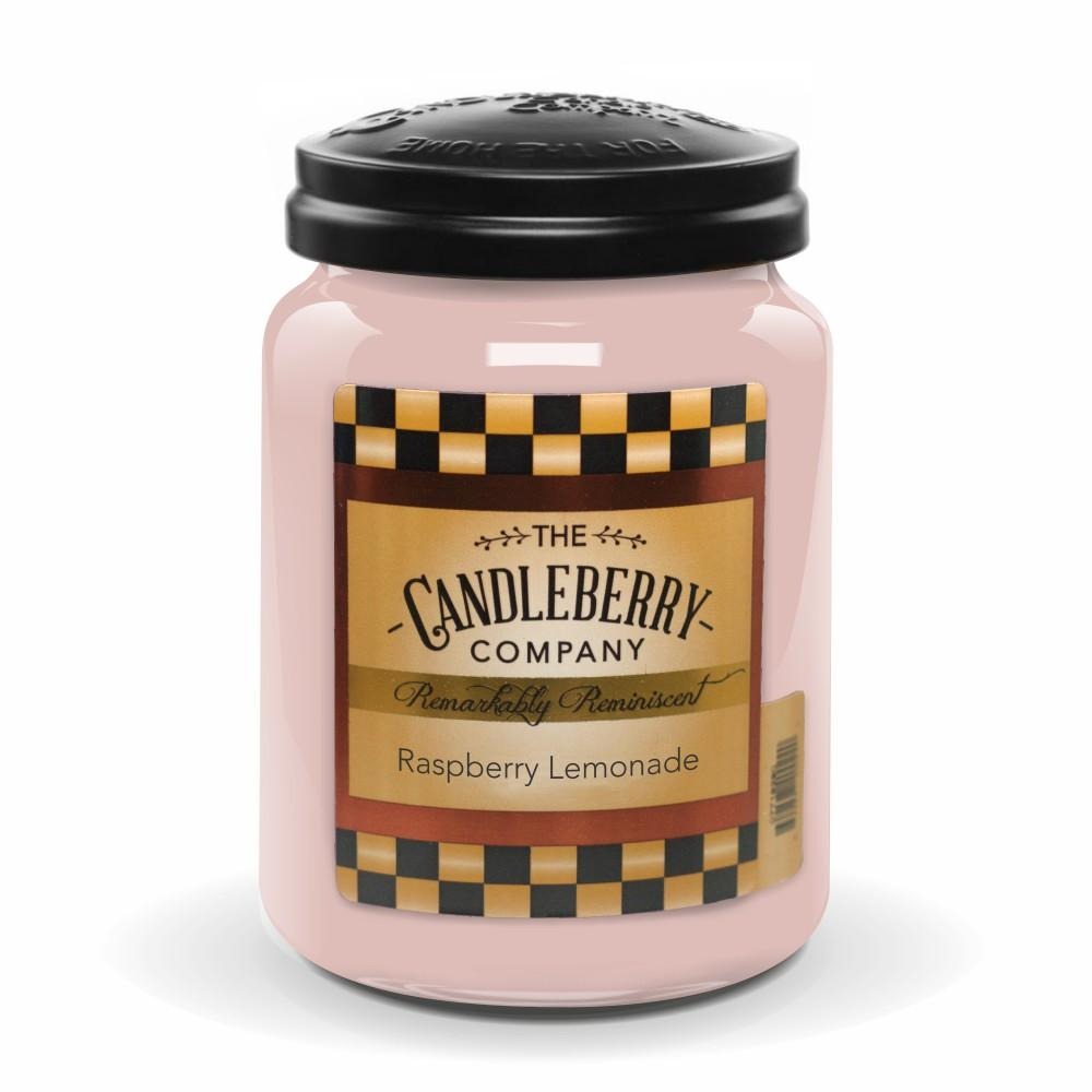 Raspberry Lemonade™, 26 oz. Jar, Scented Candle 26 oz. Large Jar Candle The Candleberry Candle Company