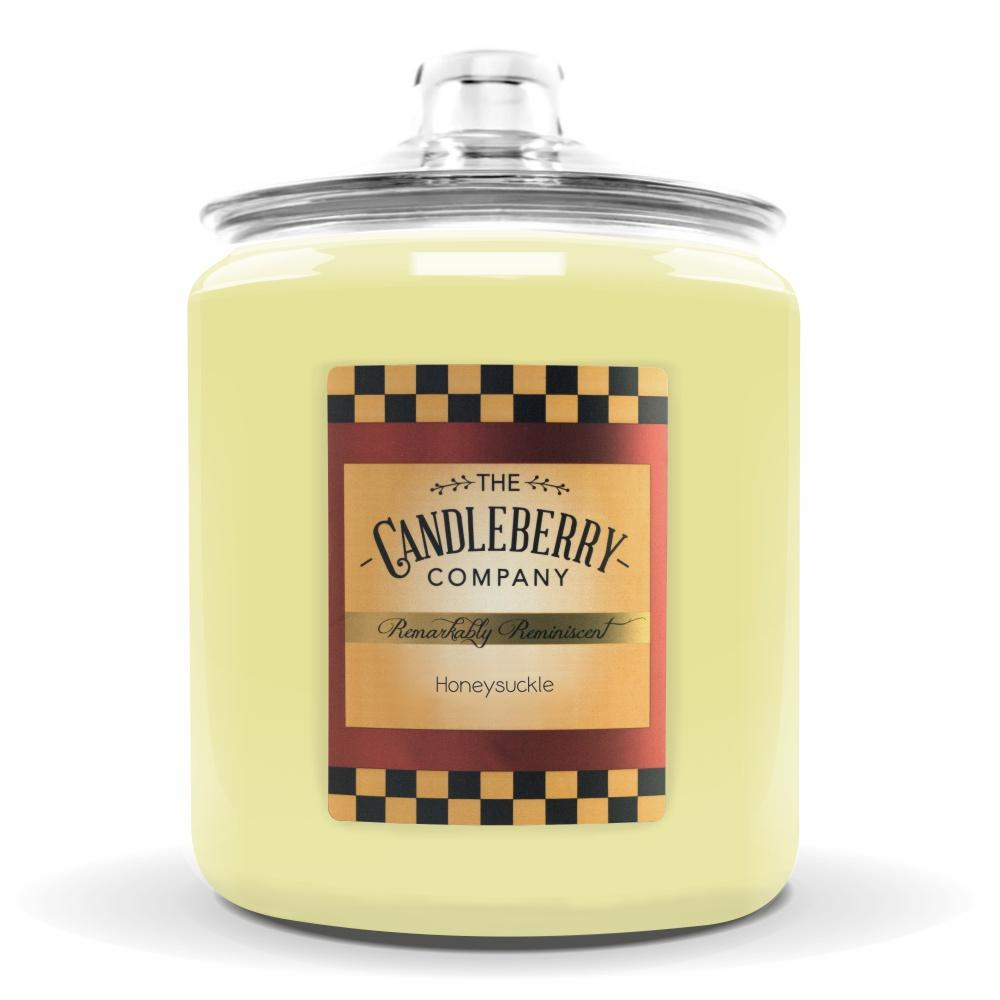 Honeysuckle™, 160 oz. Jar, Scented Candle 160 oz. Cookie Jar Candle The Candleberry Candle Company