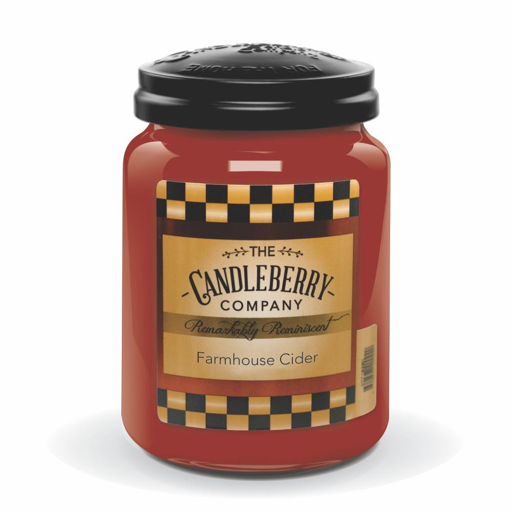 Farmhouse Cider™, 26 oz. Jar, Scented Candle 26 oz. Large Jar Candle The Candleberry Candle Company