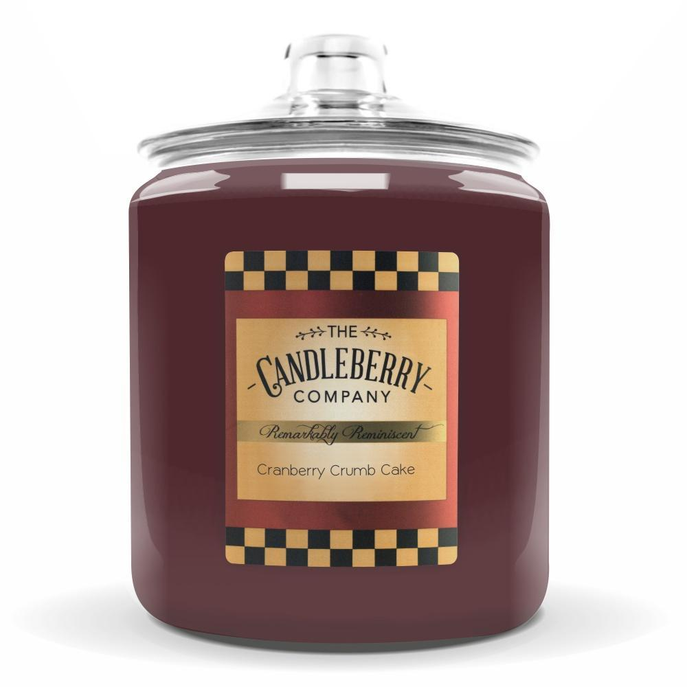 Cranberry Crumb Cake™, 160 oz. Jar, Scented Candle 160 oz. Cookie Jar Candle The Candleberry Candle Company