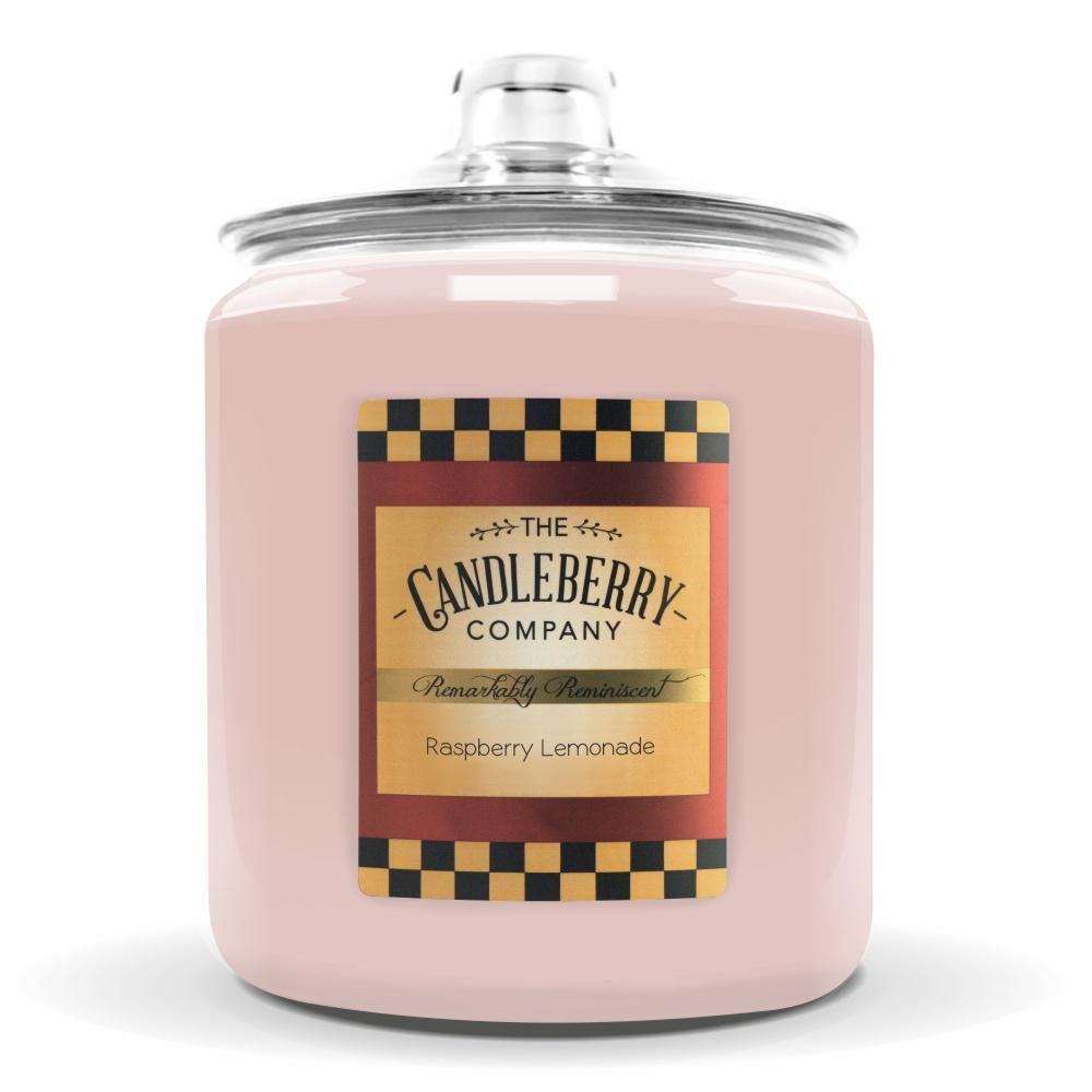 Raspberry Lemonade™, 160 oz. Jar, Scented Candle 160 oz. Cookie Jar Candle The Candleberry Candle Company