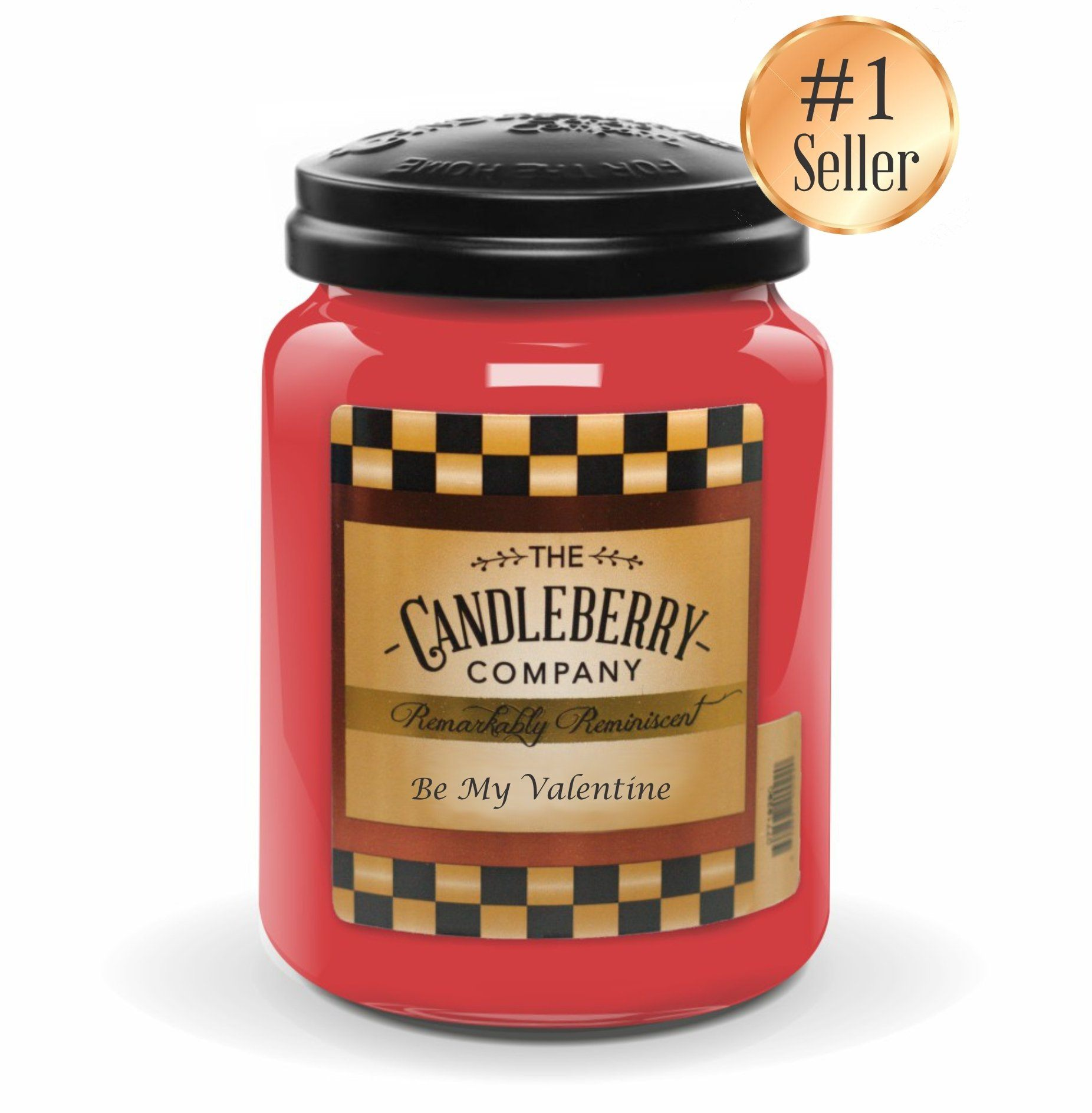 Be My Valentine™, 26 oz. Jar, Scented Candle 26 oz. Large Jar Candle The Candleberry Candle Company