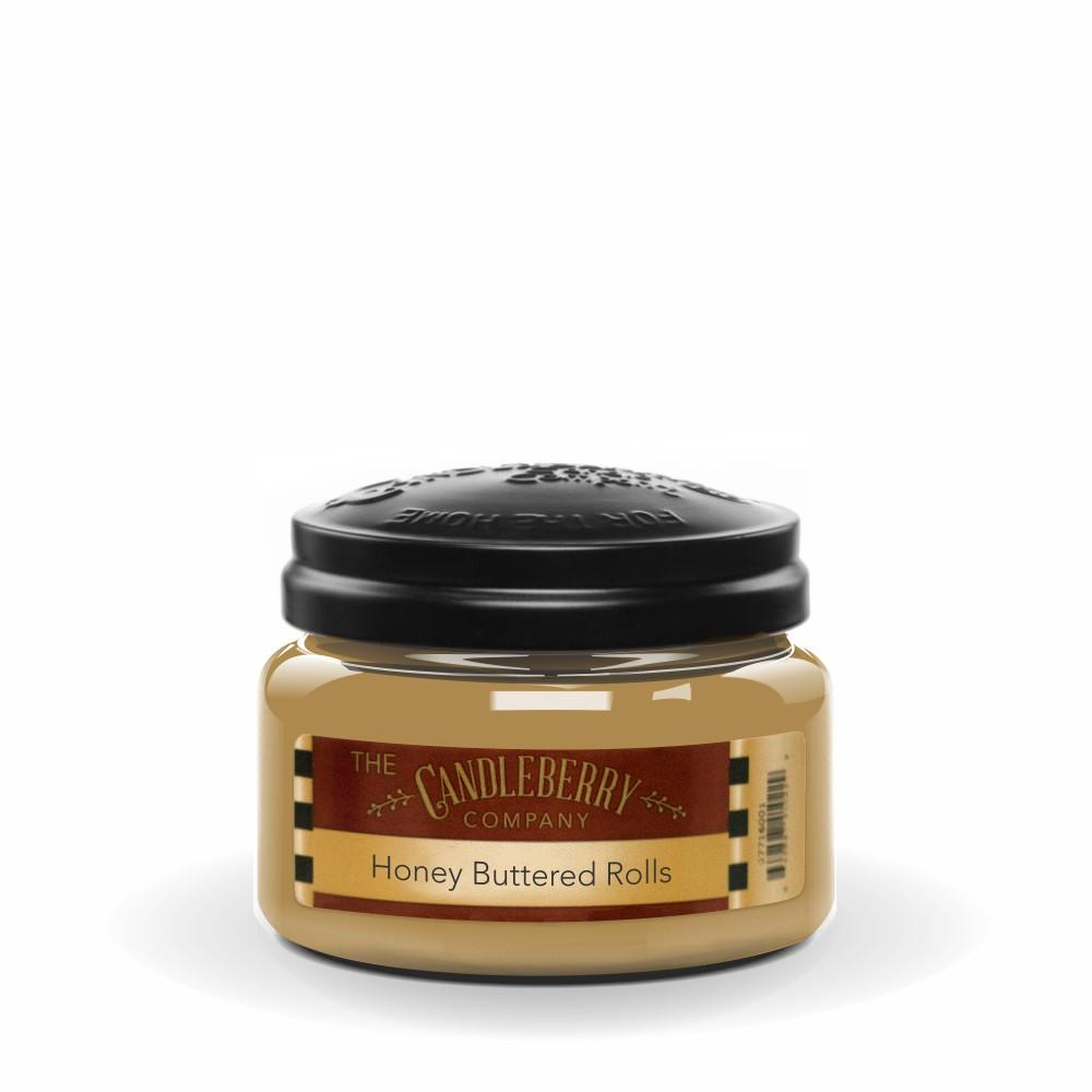 Honey Buttered Rolls™, 10 oz. Jar, Scented Candle 10 oz. Small Jar Candle The Candleberry Candle Company