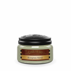 Bluegrass Hemp™, 10 oz. Jar, Scented Candle 10 oz. Small Jar Candle The Candleberry® Candle Company