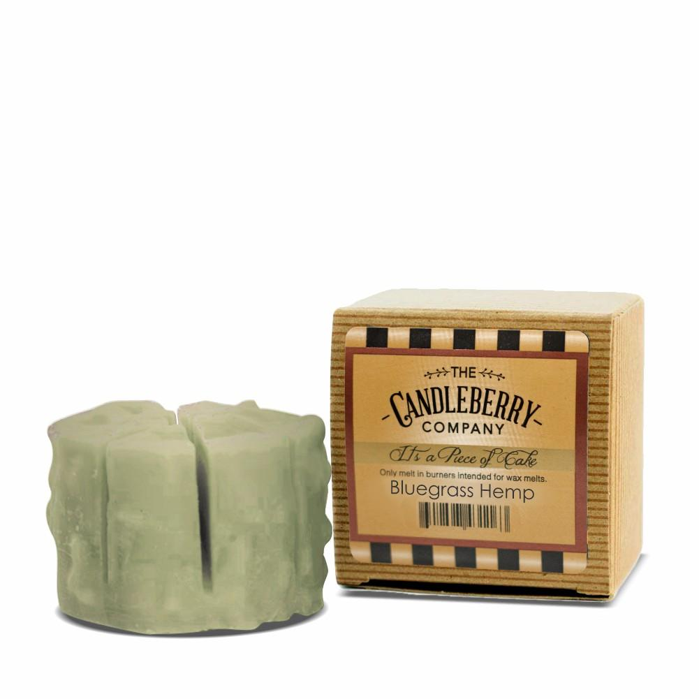 "Bluegrass Hemp™, ""It's a Piece of Cake"" Scented Wax Melts ""It's a Piece of Cake""® Wax Melts The Candleberry® Candle Company"