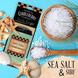 "Sea Salt & Surf™- ""Fresh Cargo"", Scent for the Car (2-PACK) Fresh CarGo® Car Scent The Candleberry Candle Company"