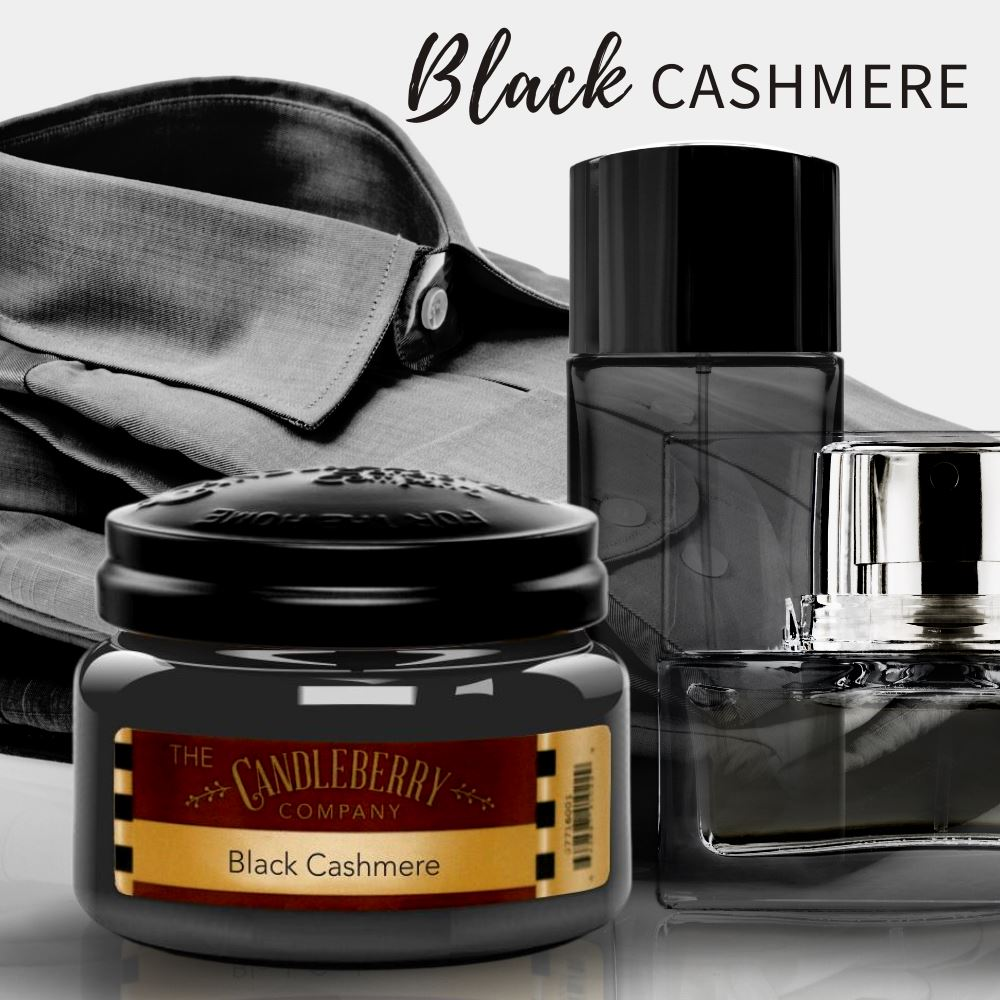 Black Cashmere™, 26 oz. Jar, Scented Candle 26 oz. Large Jar Candle The Candleberry Candle Company