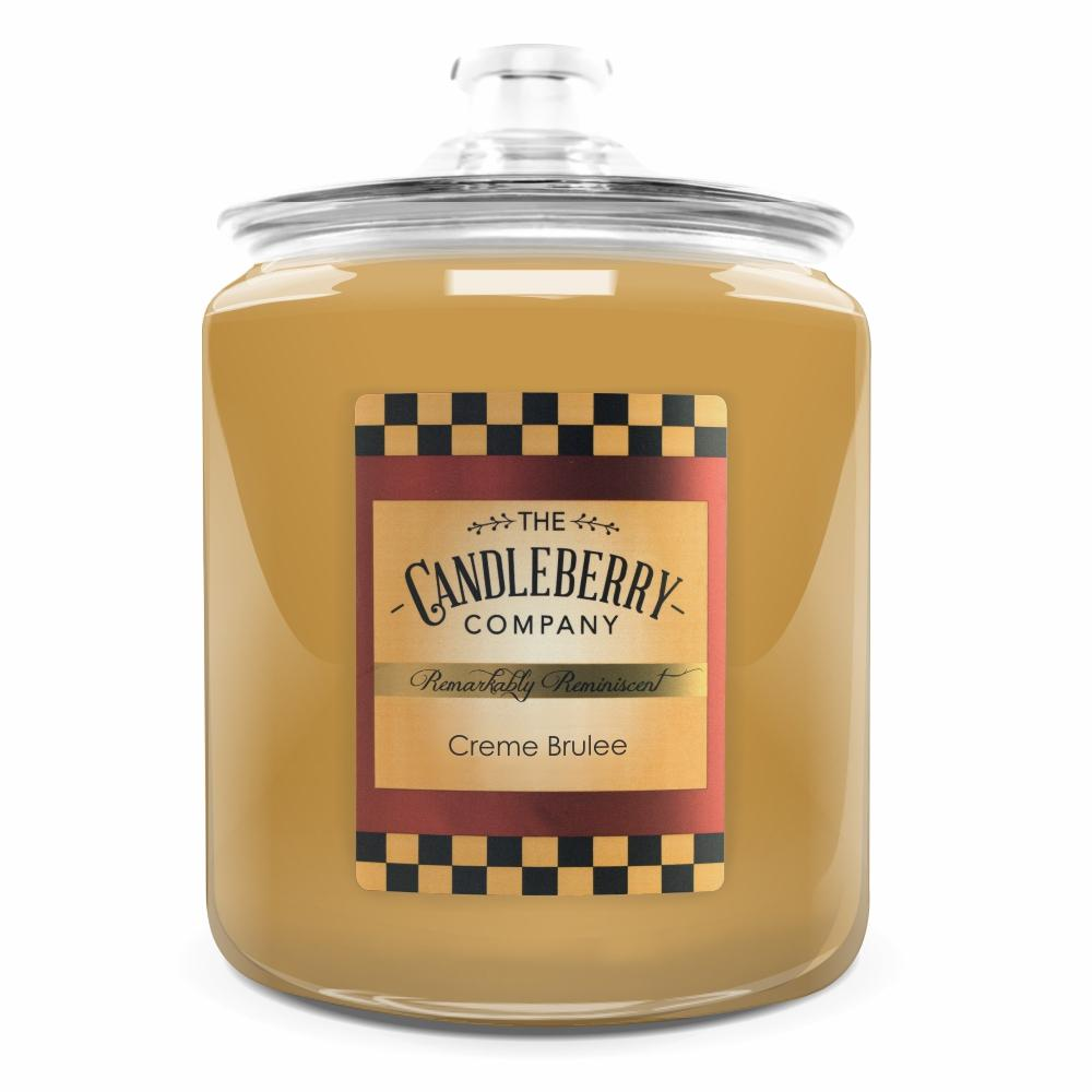 Creme Brulee™, 160 oz. Jar, Scented Candle 160 oz. Cookie Jar Candle The Candleberry Candle Company