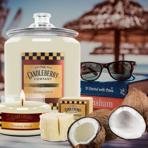 "Coconut Island™, ""It's a Piece of Cake"" Scented Wax Melts ""It's a Piece of Cake""® Wax Melts The Candleberry Candle Company"