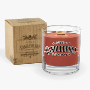Grapes & Grains - Whiskey 10 oz. Rocks Glass 10 oz. Small Jar Candle The Candleberry® Candle Company