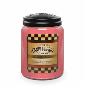 Guava Party Punch™, 26 oz. Jar, Scented Candle 26 oz. Large Jar Candle The Candleberry® Candle Company