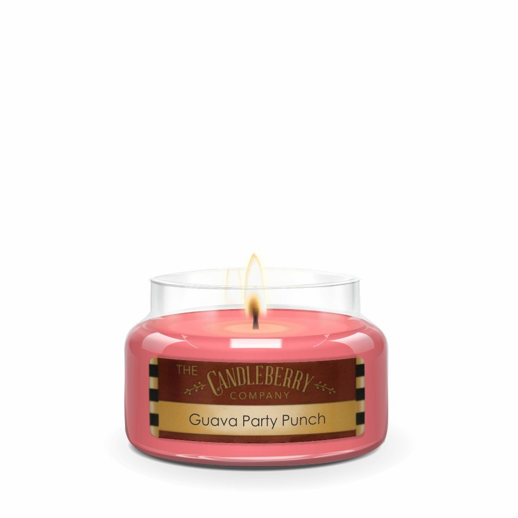 Guava Party Punch™, 10 oz. Jar, Scented Candle 10 oz. Small Jar Candle The Candleberry® Candle Company